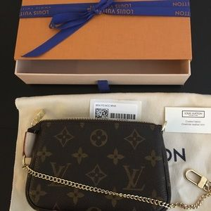 Louis Vuitton Mini Pochette- Monogram